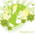 Globe: earth and nature Royalty Free Stock Photo
