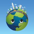 Globe eco concept. Royalty Free Stock Photo