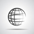 Globe planet icon Royalty Free Stock Photo