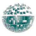 Globe Puzzle Royalty Free Stock Photo