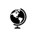 Globe vector icon Royalty Free Stock Photo