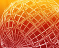 Globe wireframe abstract Stock Images
