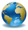 Globe of the world Royalty Free Stock Photo