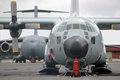 Globemaster ready to go christchurch new zealand circa us airforce waits on tarmac at the deep freeze base circa at christchurch Stock Photo