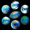 Globes Royalty Free Stock Image