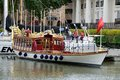 Gloriana, le chaland royal de jubilé, Londres, R-U Photos stock