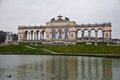 Gloriette at schoenbrunn castle in vienna Royalty Free Stock Photos