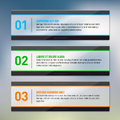 Glossy frames infographics place for your text vector illustration Royalty Free Stock Image