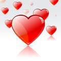 Glossy Heart Stock Photos