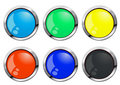Glossy-vector-buttons Stock Photo