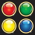 Glossy web buttons Royalty Free Stock Photography