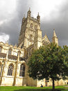 Gloucester cathedral the famous in england also called the church of st peter and the holy and indivisible Stock Photo