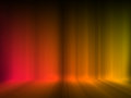 Glow abstract background orange on dark Stock Images