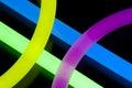Glow Sticks Closeup