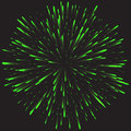 Glowing collection. Firework, light effects isolated on dark background. Royalty Free Stock Photo