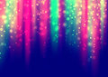 Glowing color lights background Royalty Free Stock Photos