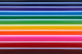 Glowing Colored Horizontal Str...