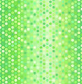 Glowing hexagon pattern. Seamless vector honeycomb background