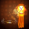 Glowing lamp background Royalty Free Stock Images