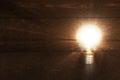 Glowing lightbulb Royalty Free Stock Photo