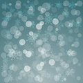 Glowing shiny christmas background with snowflakes vector Royalty Free Stock Photos