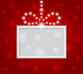 Glowing shiny christmas background vector Royalty Free Stock Photography