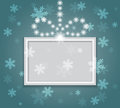 Glowing shiny christmas background vector Stock Images