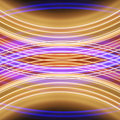 Glowing stripes of streaks of light bands Stock Image