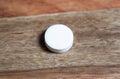 Glucose white on wooden background Royalty Free Stock Photo