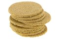 Gluten free crumbly rough Oatcakes Royalty Free Stock Photo