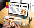Gluten Free food Celiac Disease Nutrition , Healthy lifestyle c