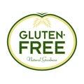 Gluten-Free Natural Goodness Logo Icon Symbol