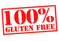 100% GLUTEN FREE Royalty Free Stock Photo