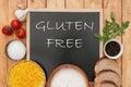 Gluten free Royalty Free Stock Photo