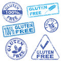 Gluten Free Stamps Royalty Free Stock Photos