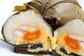 Glutinous rice dumpling Royalty Free Stock Photo