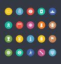 Glyphs Colored Vector Icons 48
