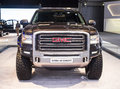 Gmc sierra hd concept dubai uae november on display at the dubai motor show uae Royalty Free Stock Image