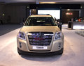 Gmc terrain dubai uae november on display at the dubai motor show uae Stock Photography
