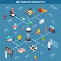 GMO Isometric Infographics