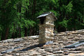 Gneiss roof Royalty Free Stock Photo