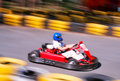 Go-cart racing Royalty Free Stock Images
