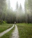 Go explore great outdoors Royalty Free Stock Photo