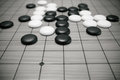 Go game or Weiqi Chinese board game