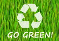 Go Green Royalty Free Stock Photo