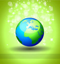 Go Green Ecology Background Royalty Free Stock Image