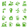 Go Green Icons set - 02 Stock Images