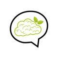 Go green mind Royalty Free Stock Photo