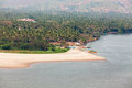 Goa coastline Royalty Free Stock Photo