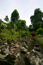 Goa Gajah ancient ruins Stock Image